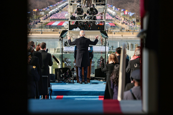 Speech「Joe Biden Sworn In As 46th President Of The United States At U.S. Capitol Inauguration Ceremony」:写真・画像(17)[壁紙.com]
