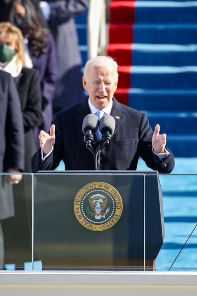 Speech「Joe Biden Sworn In As 46th President Of The United States At U.S. Capitol Inauguration Ceremony」:写真・画像(15)[壁紙.com]