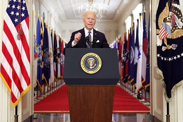 Speech「President Biden Delivers Primetime Address To Nation On Next Phase Of Pandemic」:写真・画像(0)[壁紙.com]
