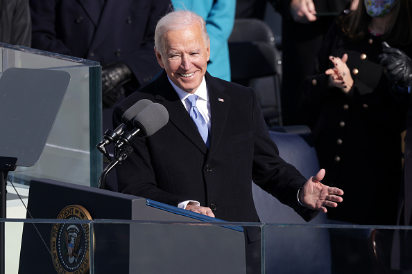 Speech「Joe Biden Sworn In As 46th President Of The United States At U.S. Capitol Inauguration Ceremony」:写真・画像(13)[壁紙.com]