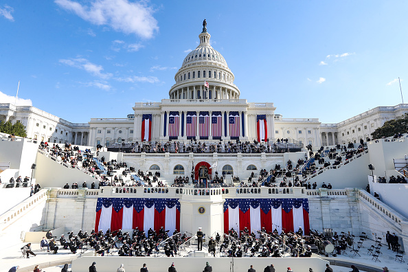 Inauguration Into Office「Joe Biden Sworn In As 46th President Of The United States At U.S. Capitol Inauguration Ceremony」:写真・画像(15)[壁紙.com]
