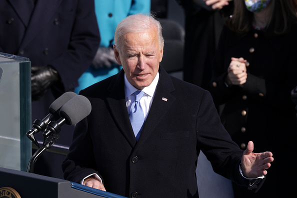 Speech「Joe Biden Sworn In As 46th President Of The United States At U.S. Capitol Inauguration Ceremony」:写真・画像(11)[壁紙.com]