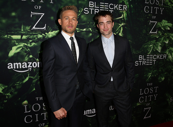 ロバート・パティンソン「Premiere Of Amazon Studios' 'The Lost City Of Z' - Arrivals」:写真・画像(15)[壁紙.com]