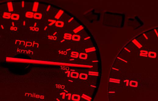 Dashboard - Vehicle Part「Red speedometer close up」:スマホ壁紙(18)