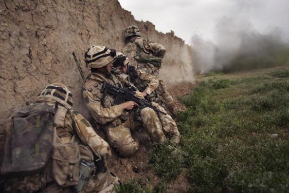 British Culture「British Forces Battle Taliban In Helmand Province」:写真・画像(14)[壁紙.com]