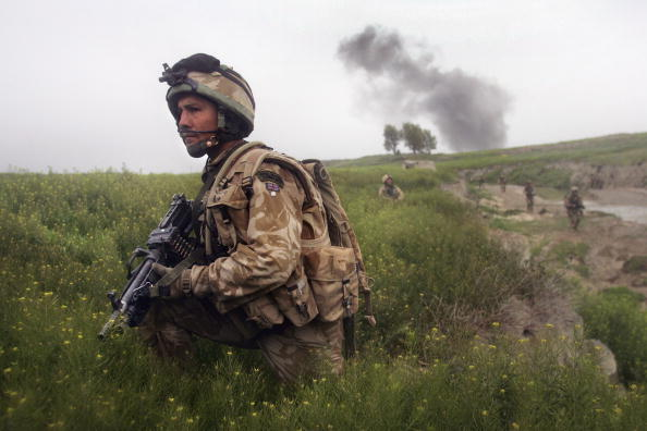 Taliban「British Forces Battle Taliban In Helmand Province」:写真・画像(5)[壁紙.com]