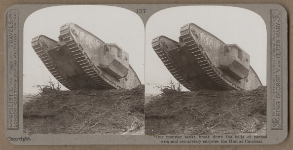 Single Object「British Tank At Cambrai」:写真・画像(0)[壁紙.com]