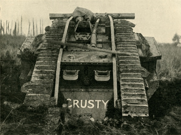 Loaf of Bread「British Mark Iv Tank On The Western Front」:写真・画像(5)[壁紙.com]
