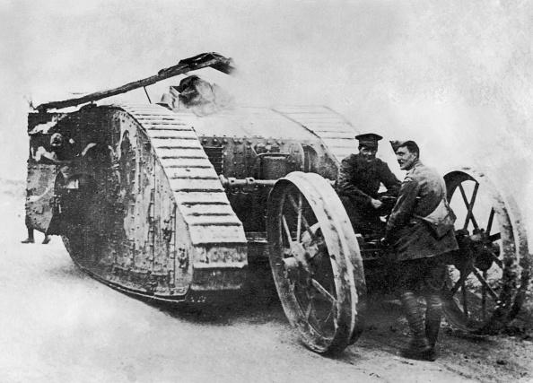 Armored Tank「Mark I Tank」:写真・画像(19)[壁紙.com]