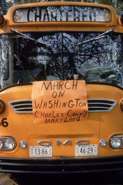 School Bus「March On Washington」:写真・画像(9)[壁紙.com]