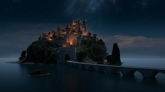 Fantasy「Storybook Castle」:スマホ壁紙(14)