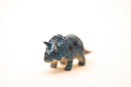 恐竜「Toy plastic dinosaur on a white background」:スマホ壁紙(6)