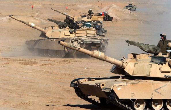 USA「U.S. Soldiers Train In Kuwait」:写真・画像(19)[壁紙.com]