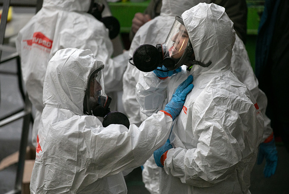 Protective Workwear「Washington State Continues Efforts To Limit Spread Of Coronavirus」:写真・画像(8)[壁紙.com]