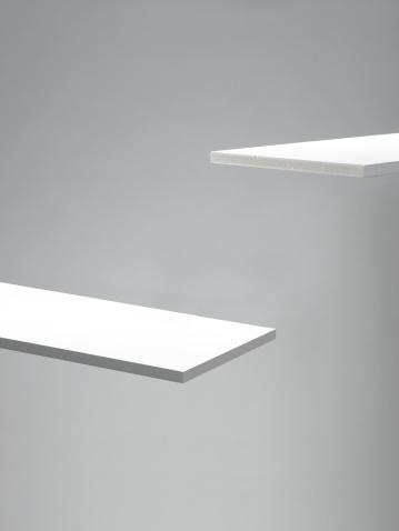Studio Shot「Two white planks, close-up」:スマホ壁紙(11)