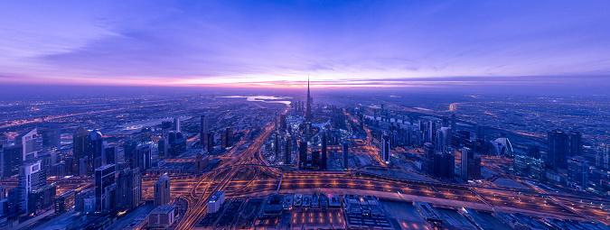 Sheikh Zayed Road「Dubai skyline」:スマホ壁紙(17)