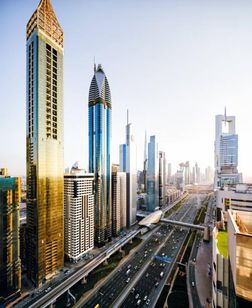 Dubai Skyline:スマホ壁紙(壁紙.com)