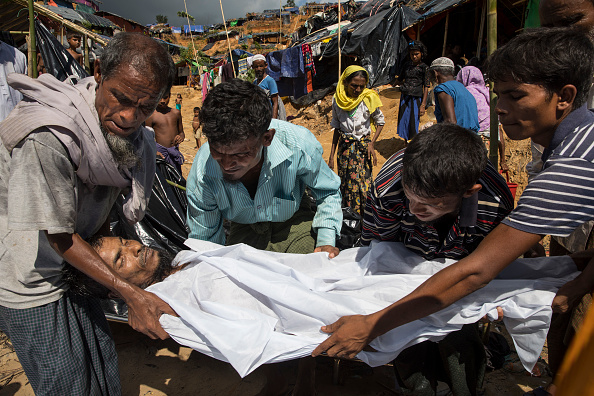 Minority Groups「Rohingya Refugees Flood Into Bangladesh」:写真・画像(1)[壁紙.com]