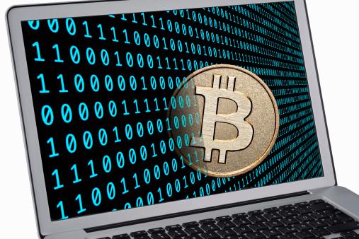 Cryptocurrency「Bitcoin」:スマホ壁紙(3)