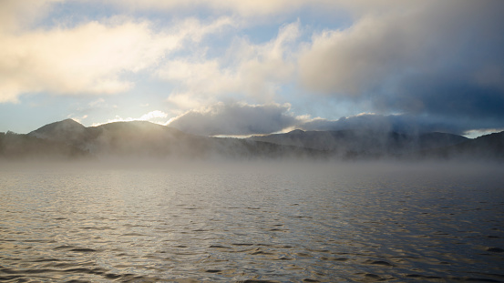Adirondack Forest Preserve「Mist rising on Lake Placid Lake」:スマホ壁紙(16)