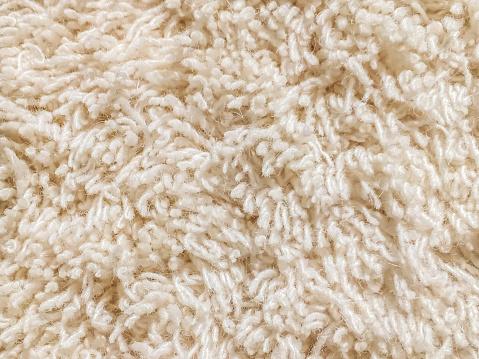 Animal Hair「Cream cut pile carpet texture」:スマホ壁紙(0)