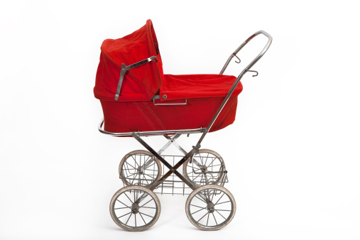 Baby Carriage「Beautiful old baby stroller」:スマホ壁紙(7)
