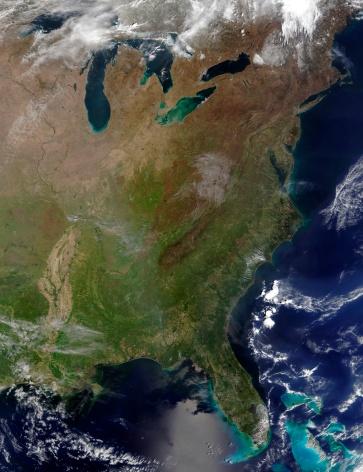"Great Lakes「""United States East Coast, satellite image""」:スマホ壁紙(0)"