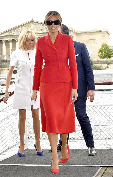 全身「US First Lady Melania Trump On Official Visit In Paris : Day One」:写真・画像(10)[壁紙.com]