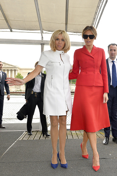 Christian Dior - Designer Label「US First Lady Melania Trump On Official Visit In Paris : Day One」:写真・画像(11)[壁紙.com]