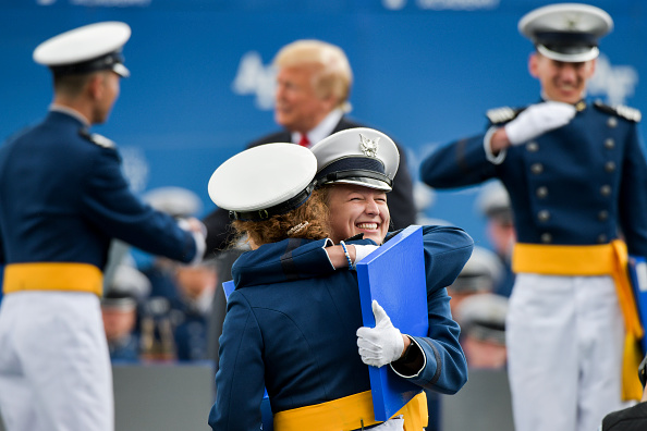 Cadet「President Trump Delivers Remarks At US Air Force Academy Graduation Ceremony」:写真・画像(12)[壁紙.com]
