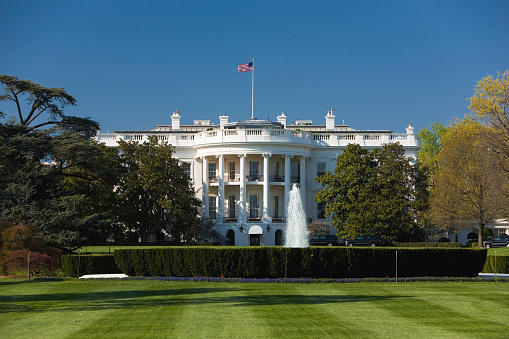 Pole「United States White House and South Lawn」:スマホ壁紙(12)