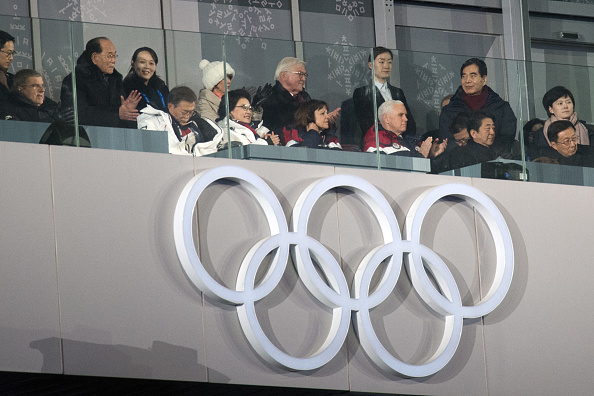 2018 Winter Olympics - Pyeongchang「U.S. Vice President Mike Pence Visits South Korea - Day 2」:写真・画像(1)[壁紙.com]