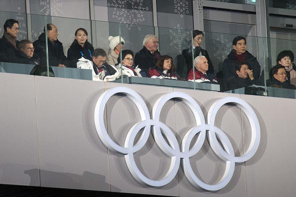2018 Winter Olympics - Pyeongchang「U.S. Vice President Mike Pence Visits South Korea - Day 2」:写真・画像(11)[壁紙.com]