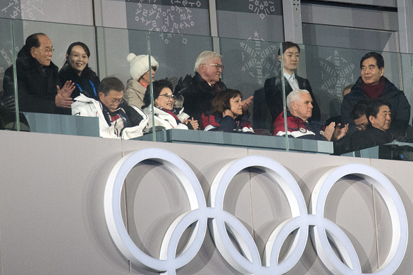 2018 Winter Olympics - Pyeongchang「U.S. Vice President Mike Pence Visits South Korea - Day 2」:写真・画像(8)[壁紙.com]