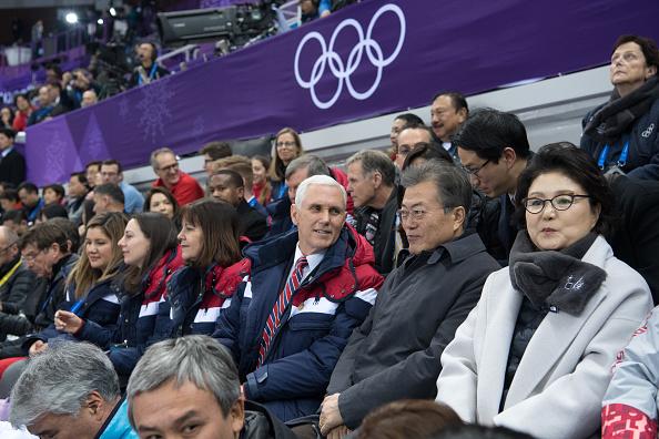 月「U.S. Vice President Mike Pence Visits South Korea - Day 3」:写真・画像(6)[壁紙.com]