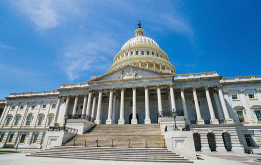 Midday「United States Capitol, Washington, D.C. USA」:スマホ壁紙(16)