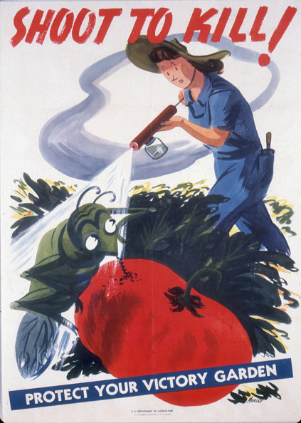 Insecticide「'Shoot To Kill! Protect Your Victory Garden'」:写真・画像(17)[壁紙.com]