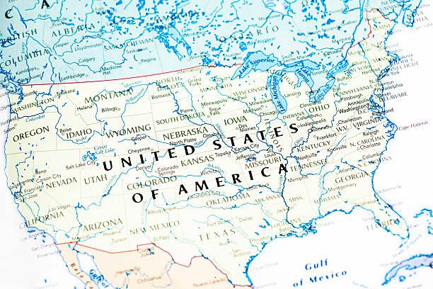 United States Of America USA Map:スマホ壁紙(壁紙.com)