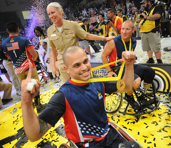 Lake Buena Vista「Invictus Games Orlando 2016 - Day 4 - Wheelchair Basketball Finals」:写真・画像(3)[壁紙.com]