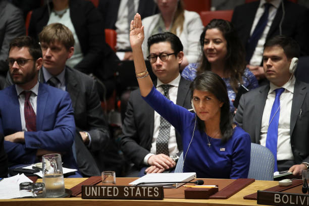 Security Council Holds Emergency Meeting After U.S. Airstrikes In Syria:ニュース(壁紙.com)