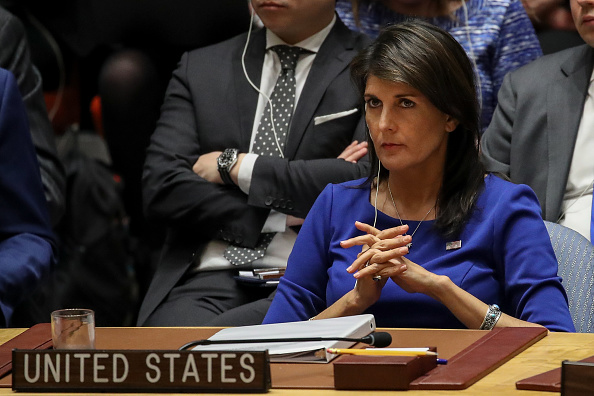 United Nations Building「Security Council Holds Emergency Meeting After U.S. Airstrikes In Syria」:写真・画像(2)[壁紙.com]