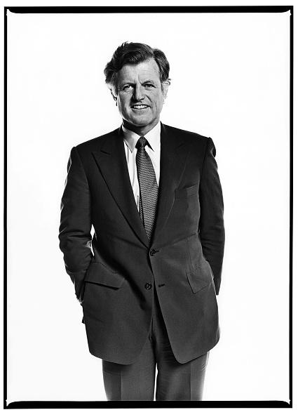 "George Rose「Edward M. ""Ted"" Kennedy Portrait Session」:写真・画像(1)[壁紙.com]"