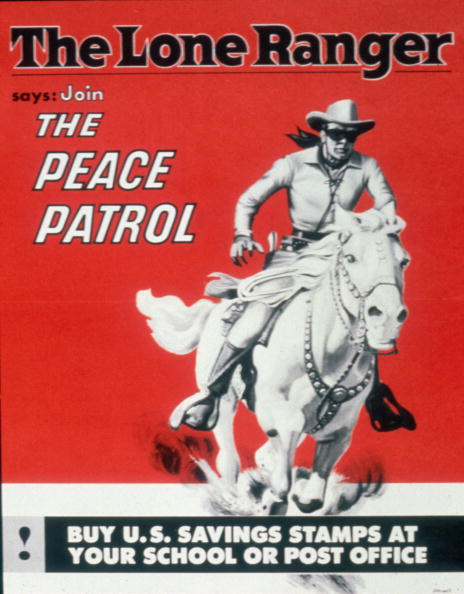 テレビ番組「'The Lone Ranger Says Join The Peace Patrol'」:写真・画像(12)[壁紙.com]