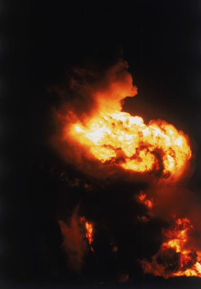 Fireball「Blasted liquefied petroleum gas pipeline, near village of salt flat, Texas, USA.」:写真・画像(11)[壁紙.com]