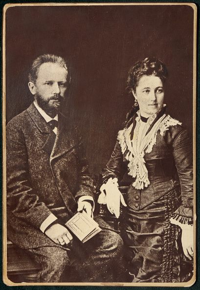 1877「The Composer Pyotr Ilyich Tchaikovsky 1840-1893 With His Wife Antonina Miliukova」:写真・画像(8)[壁紙.com]