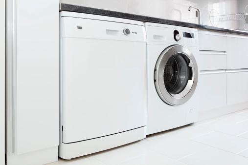 二つ「食器洗い器、洗濯機」:スマホ壁紙(18)