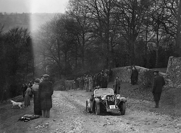 Country Road「Singer of WDV Norman climbing Nailsworth Ladder, Sunbac Colmore Trial, Gloucestershire, 1934」:写真・画像(4)[壁紙.com]