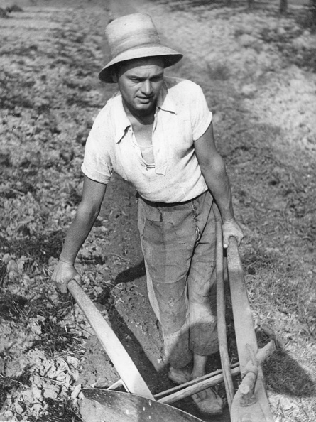 Fototeca Storica Nazionale「FARMER WITH MANUAL PLOW」:写真・画像(17)[壁紙.com]