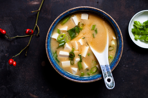 Branch - Plant Part「Miso soup, silken tofu, wakame seaweed, spring onion」:スマホ壁紙(15)