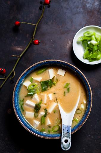 Seaweed「Miso soup, silken tofu, wakame seaweed, spring onion」:スマホ壁紙(1)